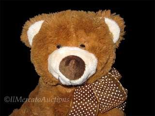 GANZ FORRESTER Plush Reddish Brown TEDDY BEAR Stuffed Animal Toy 9