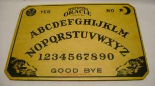 ANTIQUE MYSTIFYING ORACLE OUIJA BOARD WILLIAM FULD, BALTIMORE, MD USA