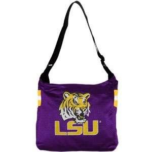 NCAA Louisiana State University Tigers Veteran Jersey Purse Tote Bag
