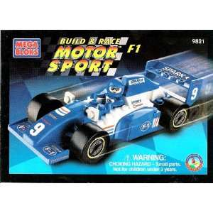 Mega Bloks Build & Race Motor Sport F1 (#9821) Toys & Games