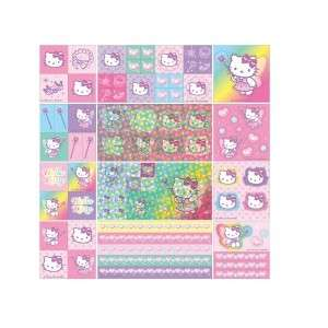 Come with more than 700 Hello Kitty Stickers (Glitters, different