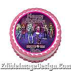 MONSTER HIGH Edible Cake Image Topper Decoration