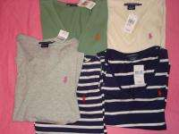 NWT Ralph Lauren Polo Womens Shirt Top Lot Size M Medium