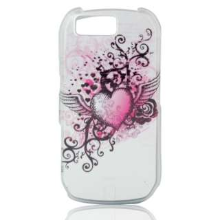 PINK Gothic HEART Skin Cover for Motorola i1 Opus One