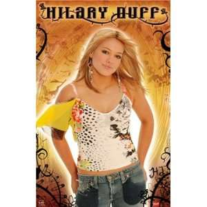 HILARY DUFF ~ 22x35 ~ Premium High Gloss Print Home
