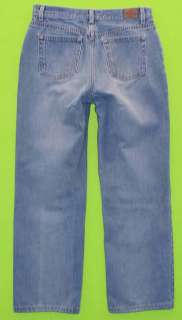 Old Navy sz 10 Relaxed at Waist Womens Blue Jeans Denim Pants GK3