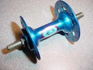 ACS BMX BICYCLE HUB OLD SCHOOL HIGH FLANGE STAMPED 1984