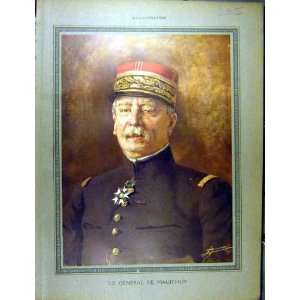 1915 Portrait General De MaudHuy Ww1 War French Print