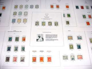 Hawaii Deluxe Color Stamp Album Pages (US POSSESSIONS)