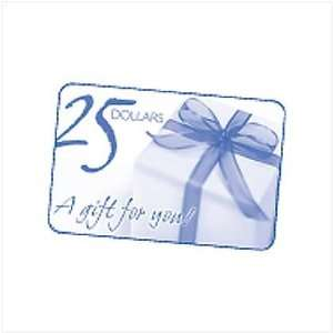 Gift Card $25.00 Home & Kitchen