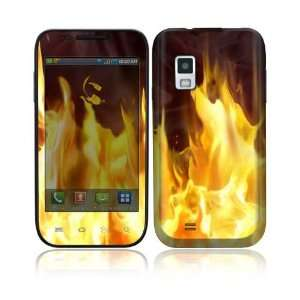 Furious Fire Decorative Skin Cover Decal Sticker for Samsung Fascinate