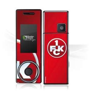 Design Skins for Samsung X830   1. FCK Logo Design Folie