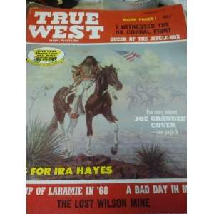 True West Magazine February 1971: Pat Wagner: Books