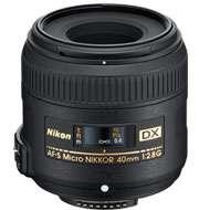 Nikon 40mm f/2.8 G F/2.8 G DX AF S Micro Nikkor Macro Lens USA