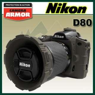 Camera Armor Nikon D80 Fitted Digital Camera Case Gray 875912002547