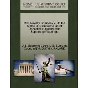Mills Novelty Company v. United States U.S. Supreme Court