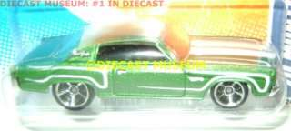 1970 70 CHEVY MONTE CARLO HOT WHEELS DIECAST 2010 2011