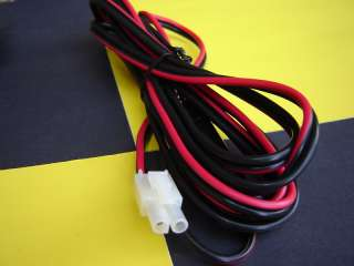 Uniden HR2510 Ham Cb 10 Meter Radio Power Cord Lincoln 2 pin molex