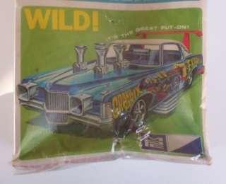 1971 Pontiac Grand Prix Mild Wild Vtg MPC 125 SEALED Model Car Kit