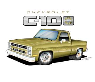 featuring a (81 87) Chevy C 10 Pickup Truck