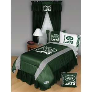 New York Jets NFL Side Line Collection Bed Complete Set