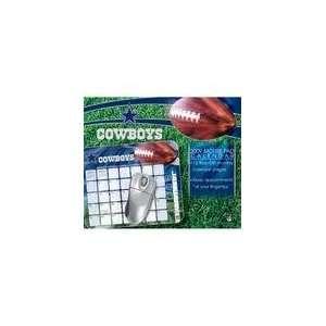 NFL Dallas Cowboys 2009 Mouse Pad Calendar (9781403895448