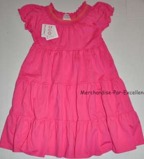 New HANNA ANDERSSON Anderson Girls Play dress short sleeve PINK 80