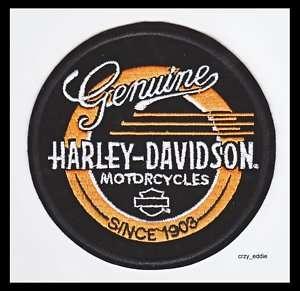 HARLEY DAVIDSON GENUINE HD PATCH **NIP**MADE IN USA**