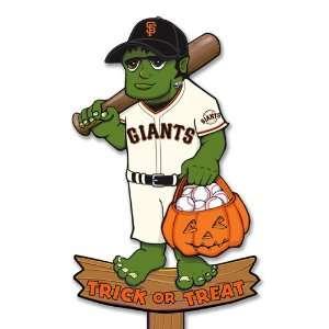 MLB San Francisco Giants Frankenstein Wooden Halloween