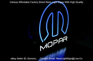 Dodge MOPAR LOGO AUTO MOTORS DEALER PUB STORE BEER BAR REAL NEON LIGHT