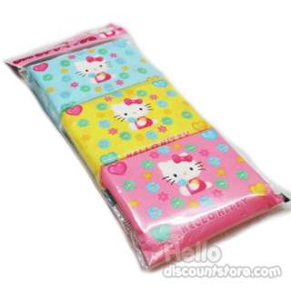 3pack sanrio hello kitty travel tissue set high quality tissue made in