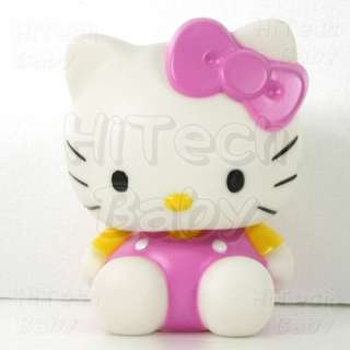 Hello Kitty Fuchsia Coin Piggy Bank / Money Box Figure