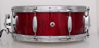 5x14 SLINGERLAND RADIO KING REPRO   Steambent Solid Shell Snare, COB