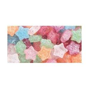 Pony Beads Stars Multi Glitter; 6 Items/Order: Arts, Crafts & Sewing
