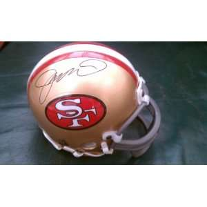 Joe Montana Signed San Francisco 49ers Mini Helmet