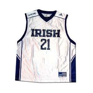 Adidas Notre Dame Fighting Irish #21 White Replica