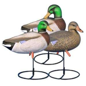Higdon Magnum Full Body Upright Mallard Duck Decoys   6 Pack