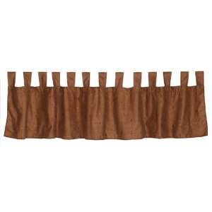 Veratex Sequoia 42 by 84 Inch Tab Top Valance  Home