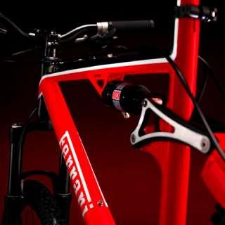 La bicicleta CX 60 ha sido realizada exclusivamente para Ferrari por
