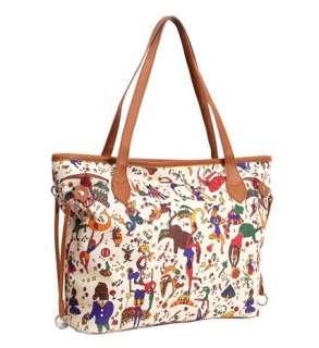 Circus Purse Shoulder Bag Handbag Tote Satchel MC1