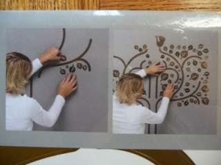 IKEA WALL DECORATION STICKERS MOTIF TREE AND BIRDS DES.