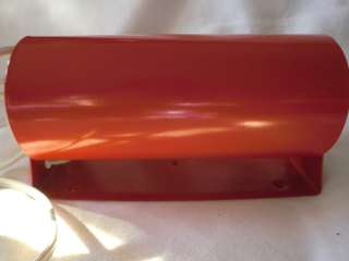 IKEA LOD RED METAL PORTABLE BED WALL LAMP NEW 8 LONG