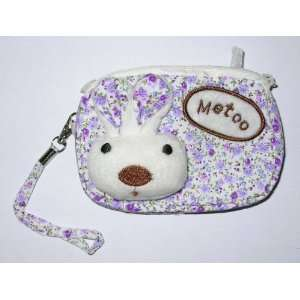 Metoo Cosmetic Makeup Bag Change Purse   Purple Mirco