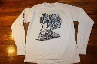 vtg 80s 1987 MARSHALL TUCKER BAND l/s concert tour t shirt