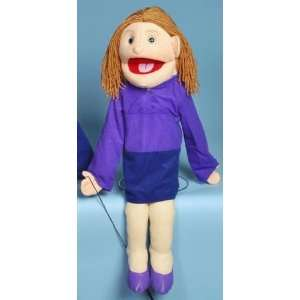 28 Mom Full Body Puppet White Toys & Games