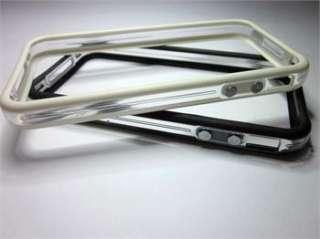 2pcs Black White Clear Bumper Case Frame For ATT Verizon Sprint iPhone