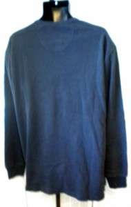 IZOD Men Long Sleeve Sweatshirt Blue Size 2XL BIN