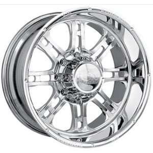 Forged Ion Terminator 20x9 Chrome Wheel / Rim 8x170 with a 10mm Offset