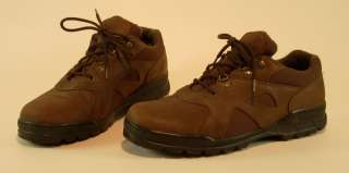 STACY ADAMS Mens Brown Leather Low Top Shoes Boots size 13 M