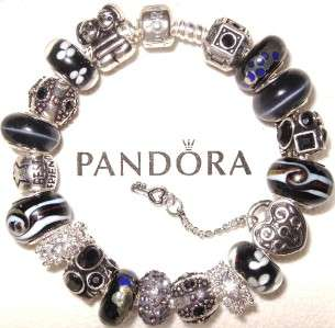 AUTHENTIC PANDORA SILVER 925 BRACELET SET BOX & BAG BEST FRIEND PICK